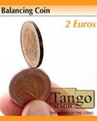 Balancing coin 2 euros  by Tango Magic