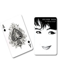 Fanning Cards (Black/White) by Juliana Chen