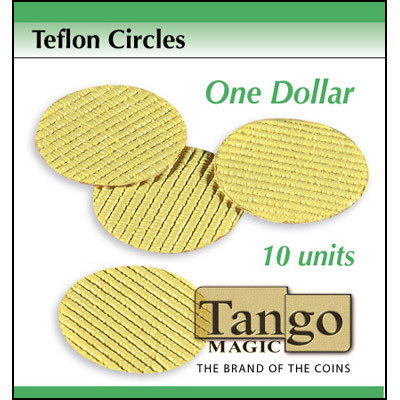 Teflon Circle Dollar Size (10 Units) by Tango Magic