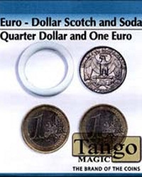 Euro-Dollar Scotch and Soda (quarter one euro) by Tango Magic