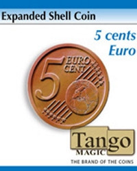 Expanded shell 5 cents euro by Tango Magic
