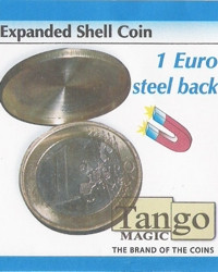 Expanded shell 1 euro steel back  by Tango Magic