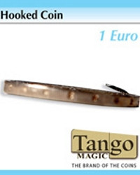 Hooked coin 1 euro by Tango Magic