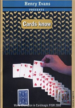 "Cards Know Blue Bicycle ""with DVD"" by Henry Evans"