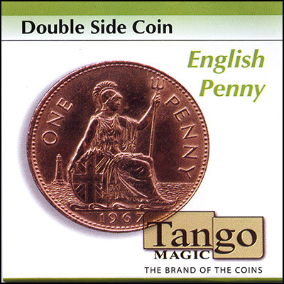 Double Side Coin English Penny (Tail) by Tango Magic