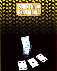 3 Card Monte 2000 ( Blue Bicycle) by Henry Evans