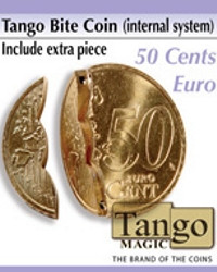 Tango Bite coin 50 cents by Tango Magic