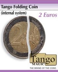 Tango folding coin 2 euros by Tango Magic