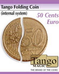 Tango folding coin 50 cents by Tango Magic