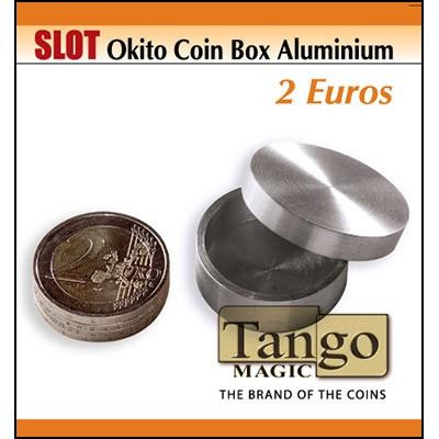 Slot Okito coin box 2 euro (Aluminium) by Tango Magic
