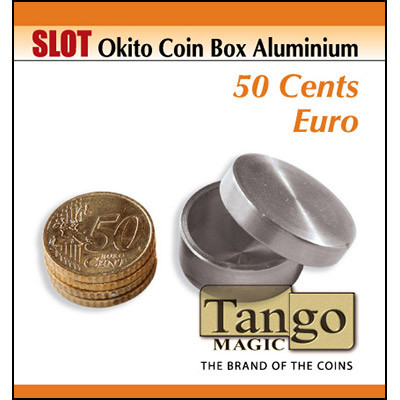 Slot Okito coin box 50 ctvs euro (Aluminium) by Tango Magic