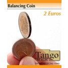 Balancing coin 2 euros  by Tango Magic