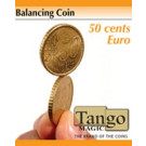 Balancing coin 50 cents by Tango Magic