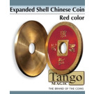 Expanded shell Chinese coin yellow color by Tango Magic