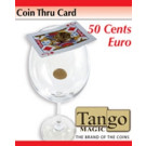 Coin thru card 50 cents by Tango