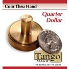 Coin thru hand Quarter dollar through hand by Tango Magic