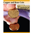 Copper and Brass (made with 0.05 and 0.2 coins)  by Tango Magic