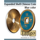 Expanded shell Chinese coin blue color by Tango Magic