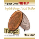 Flipper coin PRO Flip English penny/ Half dollar  by Tango