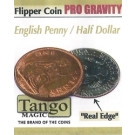 Flipper coin PRO Gravity English penny/ Half dollar by Tango