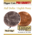 Flipper coin PRO Gravity Half dollar/English penny by Tango