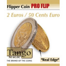 Flipper coin PRO Flip 2 Euros/50 Cents. Euro by Tango Magic