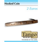 Hooked coin 2 euros by Tango Magic