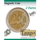 Magnetic coin 2 euros by Tango Magic