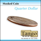 Hooked Coin Quarter Dollar by Tango Magic
