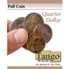 Pull coin Quarter dollar by Tango Magic