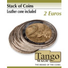 Stack of coins 2 Euros by Tango Magic