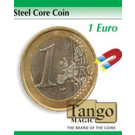 Steel core coin 1 euro by Tango Magic