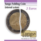 Tango folding coin 2 euros by Tango Magic