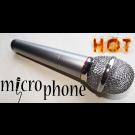 Micrófono en Llamas por Amazo Magic