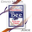 Baraja Marcada Azul (Bee) por David Malek